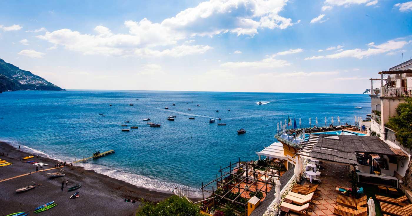 Panorama casa vacanza Positano Costiera Amalfitana