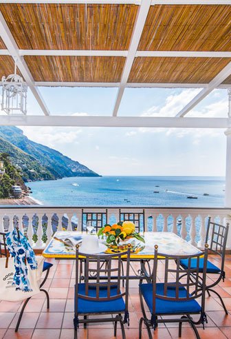 Vacation house rentals Positano Amalfi Coast