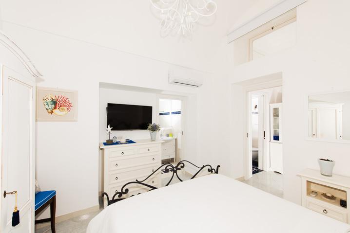 Camera da letto appartamento in affitto Costiera Amalfitana Stella
