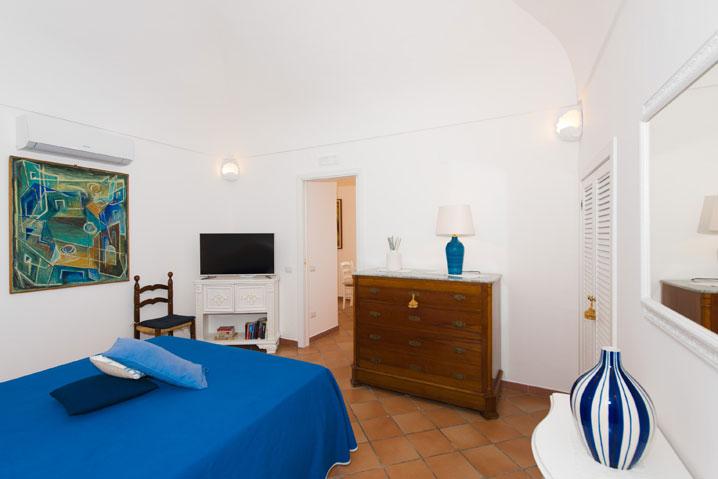 Camera da letto appartamento Positano Mimosa