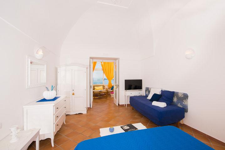 Camera appartamento in Positano Mimosa