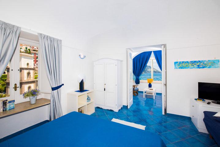 Camera Appartamento in affitto Positano Oceano
