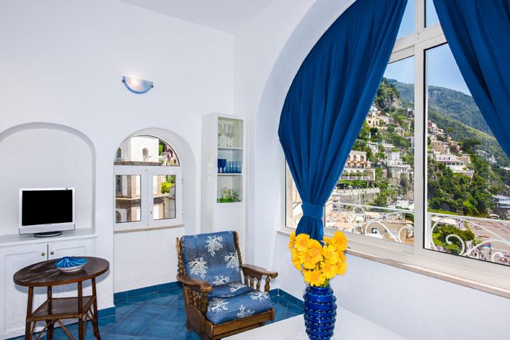 appartamento in affitto Costiera Amalfitana Oceano con vista su Positano