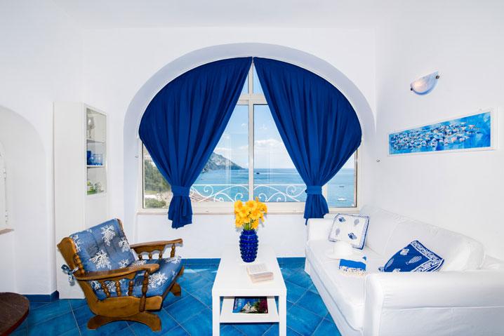 Appartamento in affitto Positano Oceano
